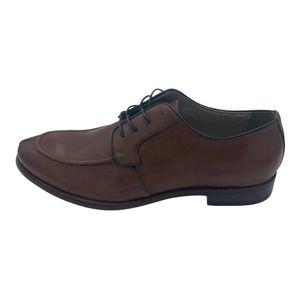 WINTHROP Brooks Oxford Leather Cognac Brown SZ 9.5
